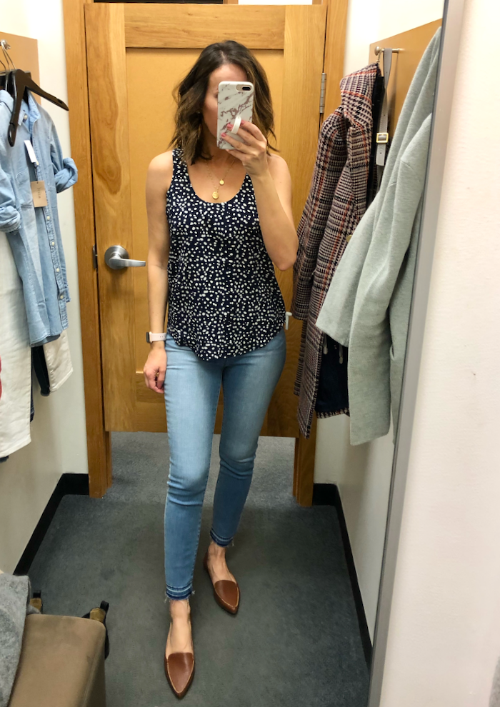 42a490dbc71 This pair of jeans was my second favorite pair. Loved the exposed buttons  and the raw hem. I must admit that I m pleasantly surprised how comfortable  J.Crew ...
